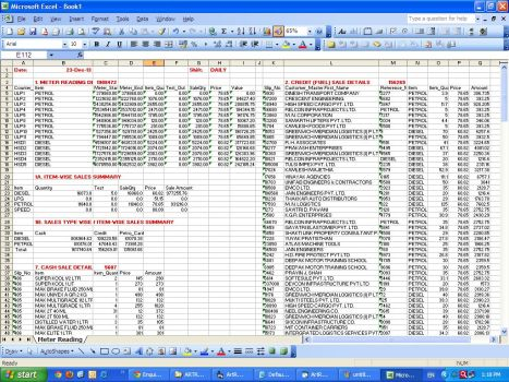 Daily MIS Export to Excel